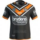Wests Tigers Rugby Shirt 2019-2020 Home