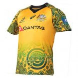 Australia Wallabies Rugby Shirt 2017-18 Indigenousus