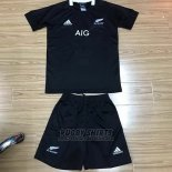 Kid's Kits New Zealand All Blacks Rugby Shirt 2019-2020 Home