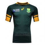 South Africa Rugby Shirt 2015 Home