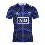 New Zealand All Blacks Rugby Shirt Blue