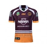 Brisbane Broncos Rugby Shirt 2018 Home