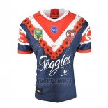 Sydney Roosters Rugby Shirt 2018-19 Conmemorative
