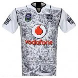 New Zealand Warriors 9s Rugby Shirt 2016 Home