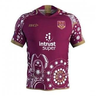 Queensland Maroons Rugby Shirt 2018-19 Commemorative