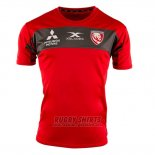 Gloucester Rugby Shirt 2019 Training Red