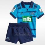 Kid's Kits Blues Rugby Shirt 2018-19 Home