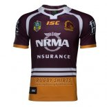 Brisbane Broncos Rugby Shirt 2017 Home