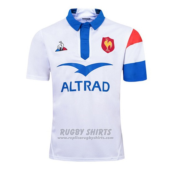 France Rugby Shirt 2018-19 White