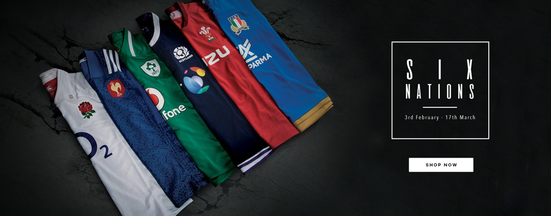 6 Nations Rugby Shirts Sale