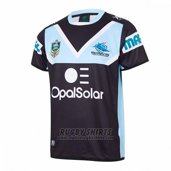 Cronulla Sutherland Sharks Rugby Shirt 2018 Away