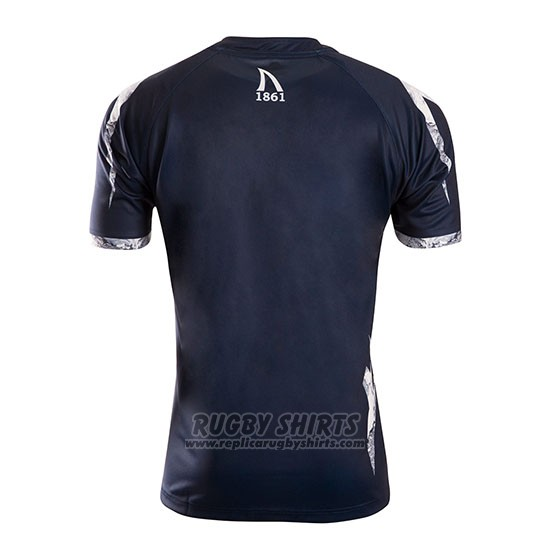 Sale Sharks Rugby Shirt 2019 Home